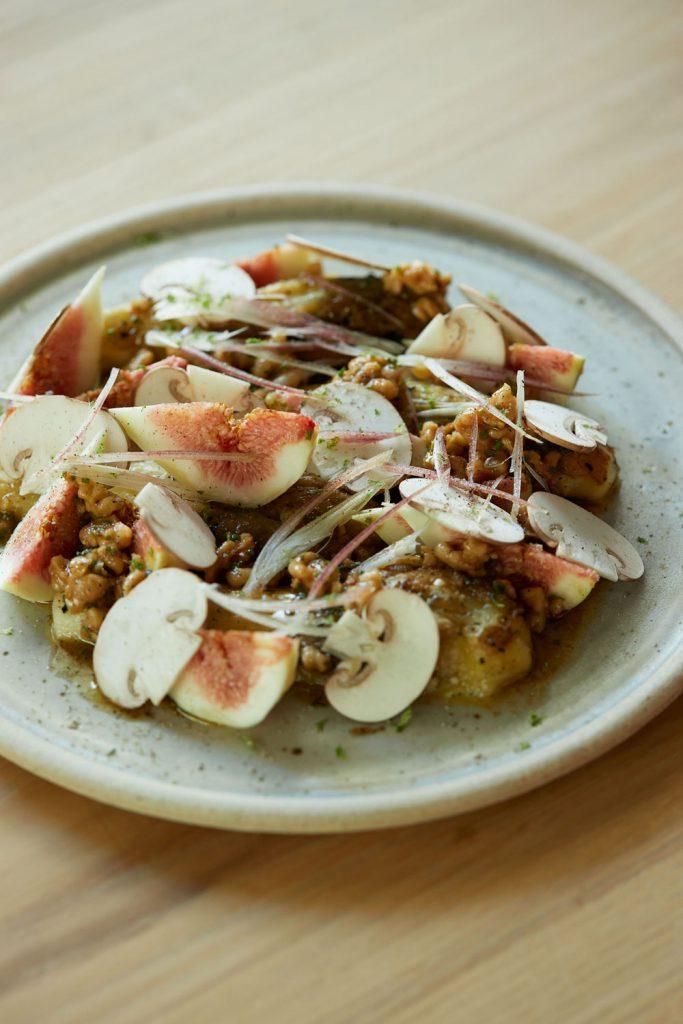 イチジクと焼きナスのサラダ〈RECIPE from restaurant RK〉