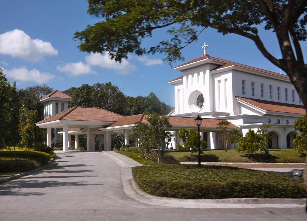 Garden gazebo silang wedding rates - Saint Benedict Church In Silang Cavite