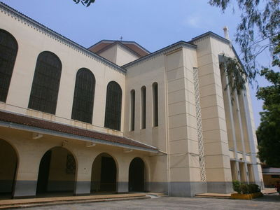 Santo Domingo Church in Quezon City, Metro Manila