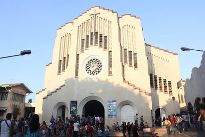Baclaran Church in Paranaque City, Metro Manila