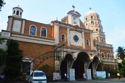 Santa Cruz Church in Manila , Metro Manila