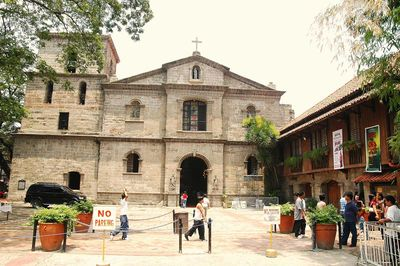Bamboo Organ Church in Las Pinas City, Metro Manila
