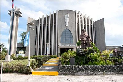 National Shrine Of Mary Help Of Christians in Paranaque City, Metro Manila