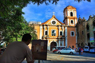 San Agustin Church in Manila , Metro Manila