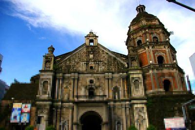 Binondo Church in Manila , Metro Manila