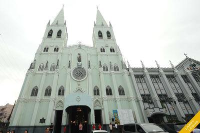 San Sebastian Church in Manila , Metro Manila