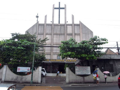Mater Dolorosa Parish in Makati City, Metro Manila