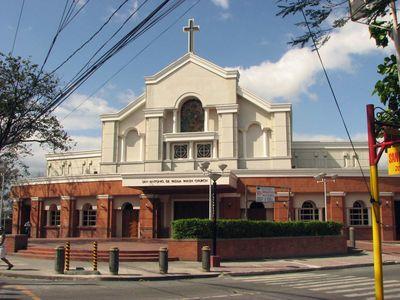 San Antonio De Padua Parish Church in Paranaque City, Metro Manila