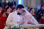 Cubao Cathedral wedding photos big 3/3