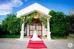 Notre Dame De Vie Chapel wedding photos small 1/2