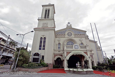 Cubao Cathedral wedding photos big 3/1