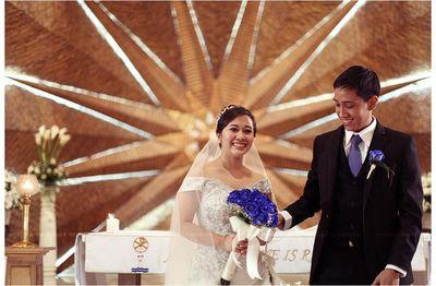 Don Bosco Church wedding photos big 4/1
