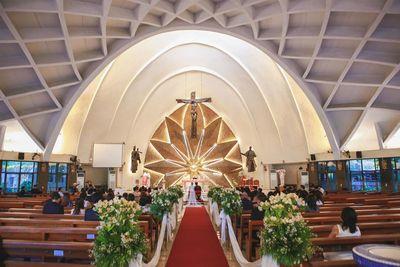 Don Bosco Church wedding photos small 0/1