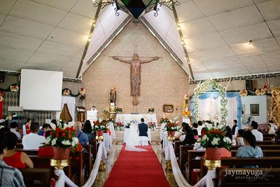 Saint Paul Of The Cross Parish wedding photos small 0/1