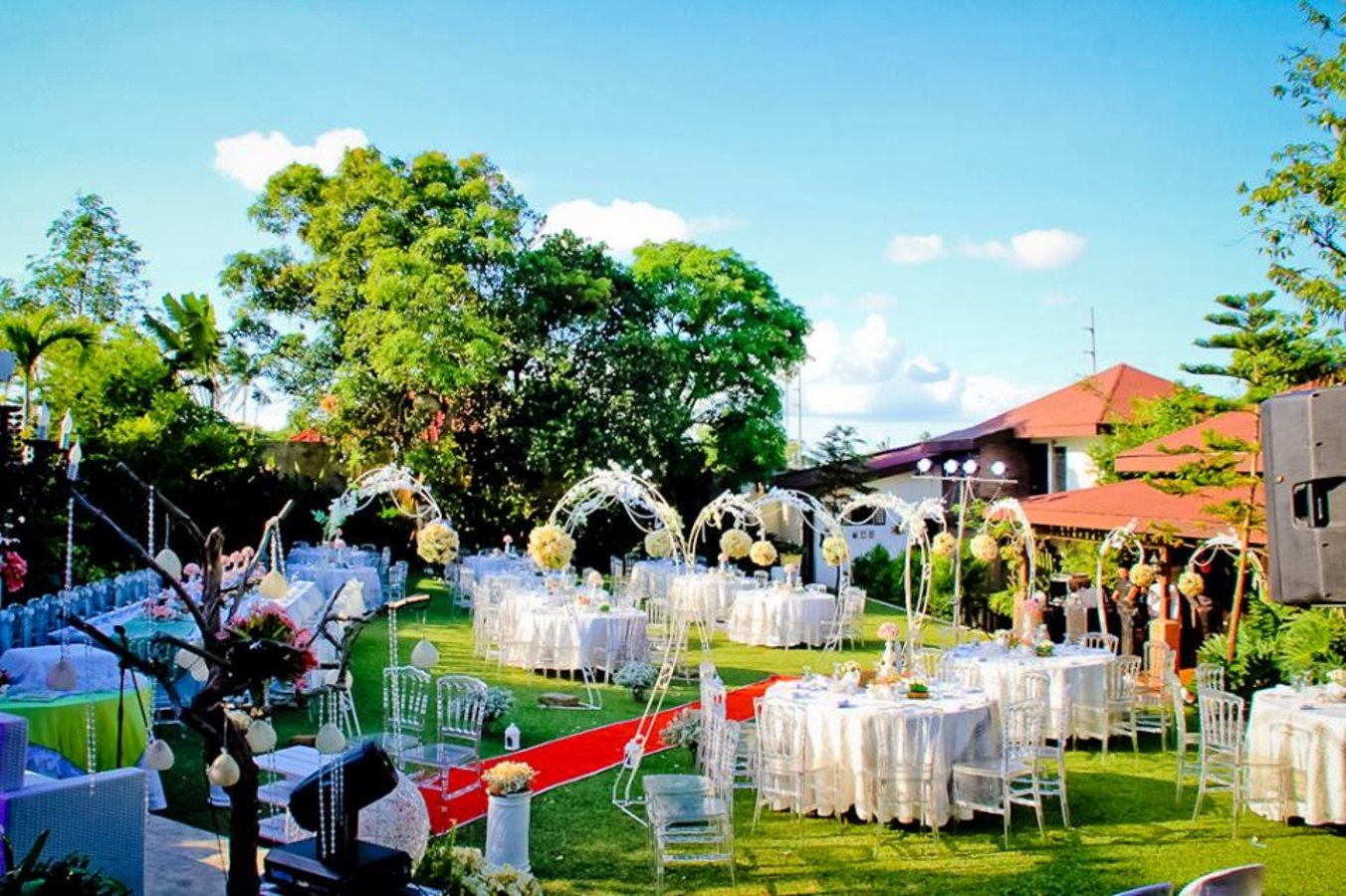 Garden gazebo silang wedding rates - Reception Venues Near Palm Garden Events Place