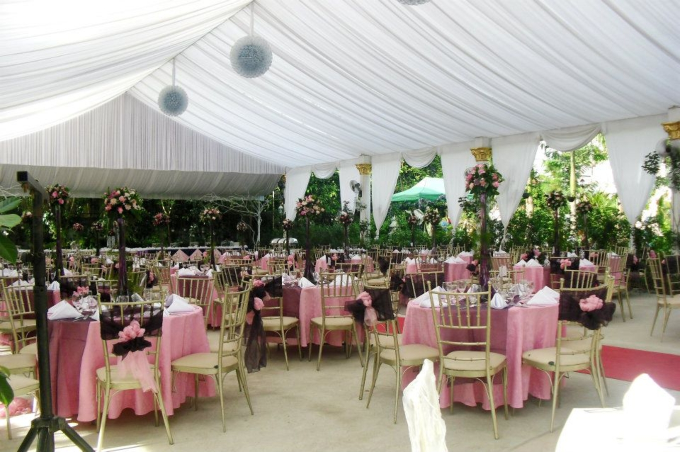 wedding reception venues cost%0A Sweet Harmony Gardens Taytay Rizal View Venue