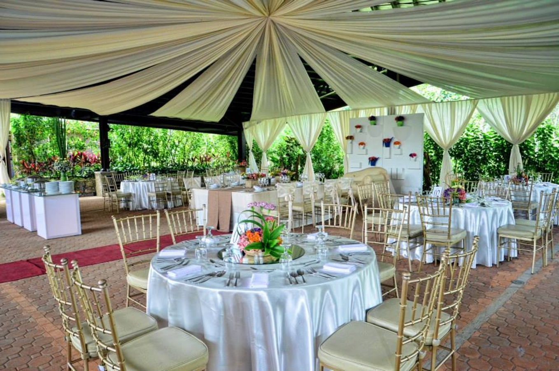 Garden gazebo silang wedding rates - The Glens Tagaytay In Tagaytay City Cavite