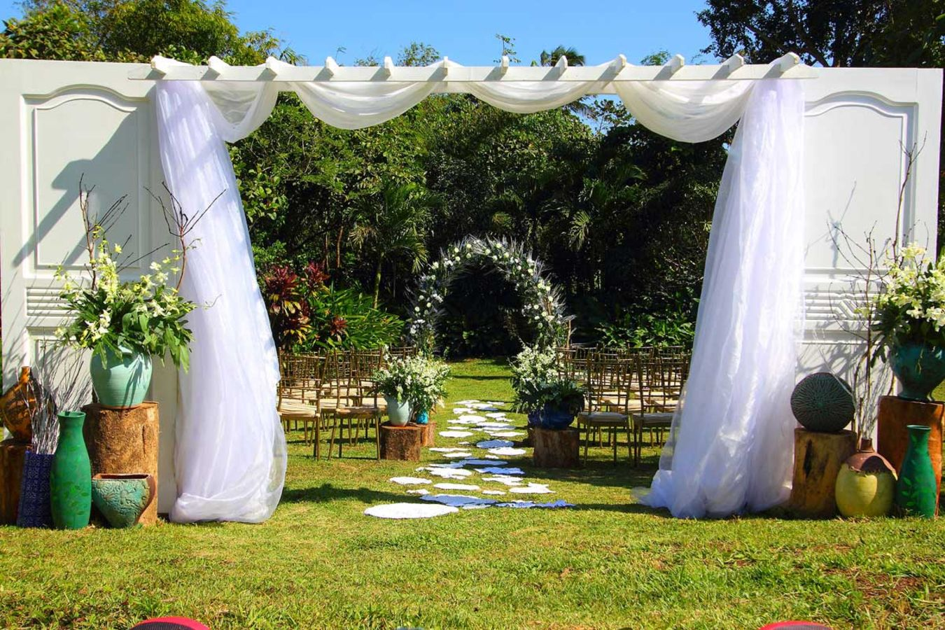 Garden gazebo silang wedding rates - The Veranda At Bella Rosa Farm In Silang Cavite