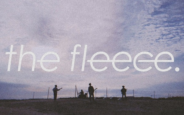 the fleece.