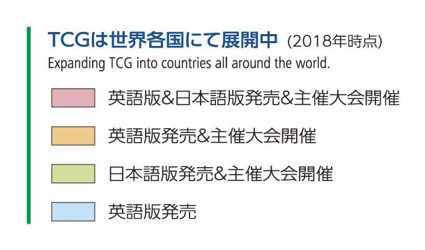 TCG世界展開