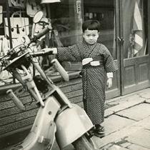 幼少の頃の信三郎