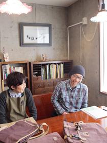 佐藤と小川の写真