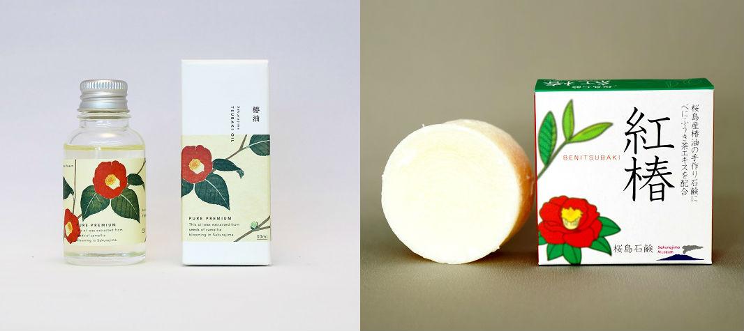 スキンケア・ハンドクリーム・ネイルケアに鹿児島県桜島産の椿油(つばきオイル)