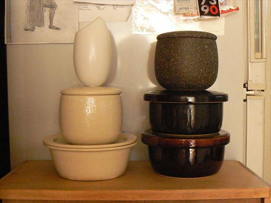 陶器のおひつ