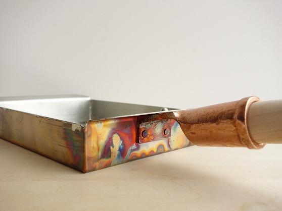 プロも使う銅製たまご焼きフライパン