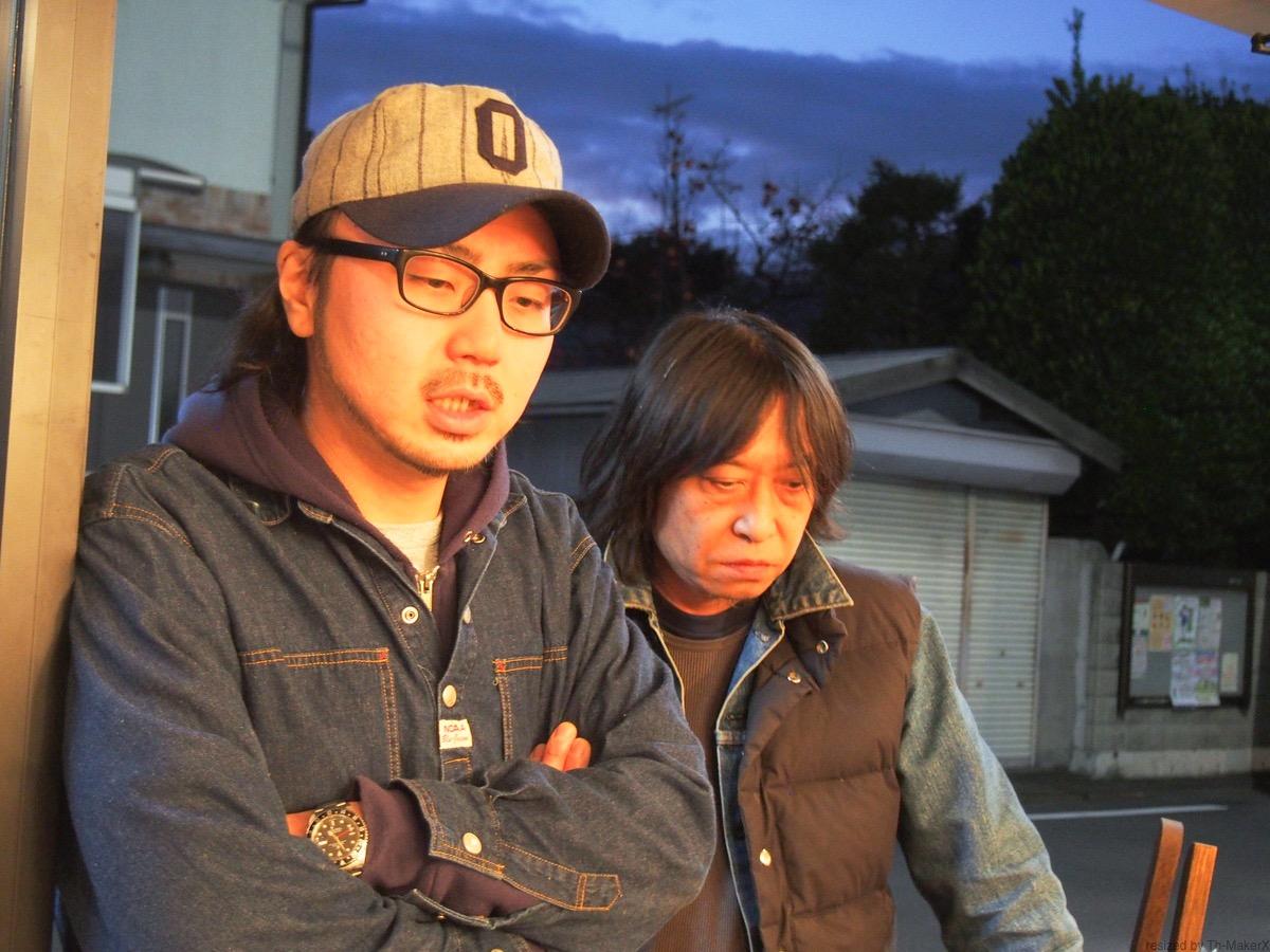 写真左から平山哲也さん、望月拓男さん