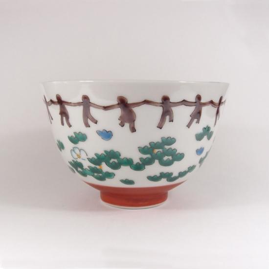 トリノワの九谷焼のお茶碗