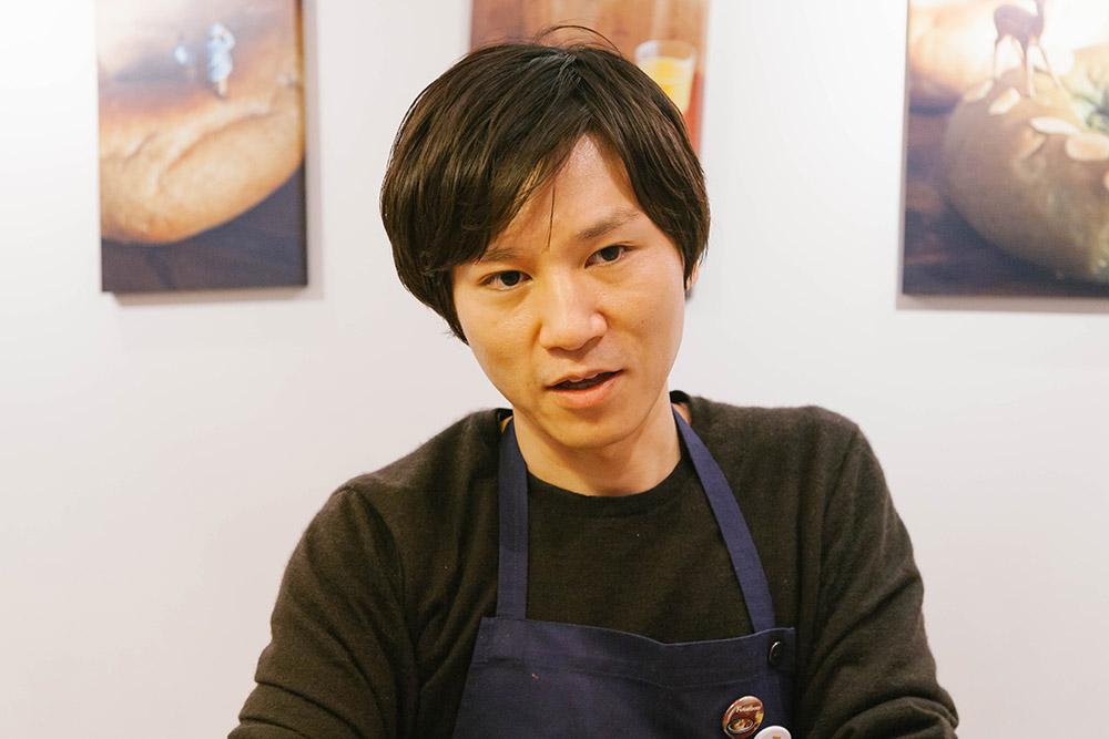 フスボンを運営する株式会社コレットの代表 川谷洋史さん。