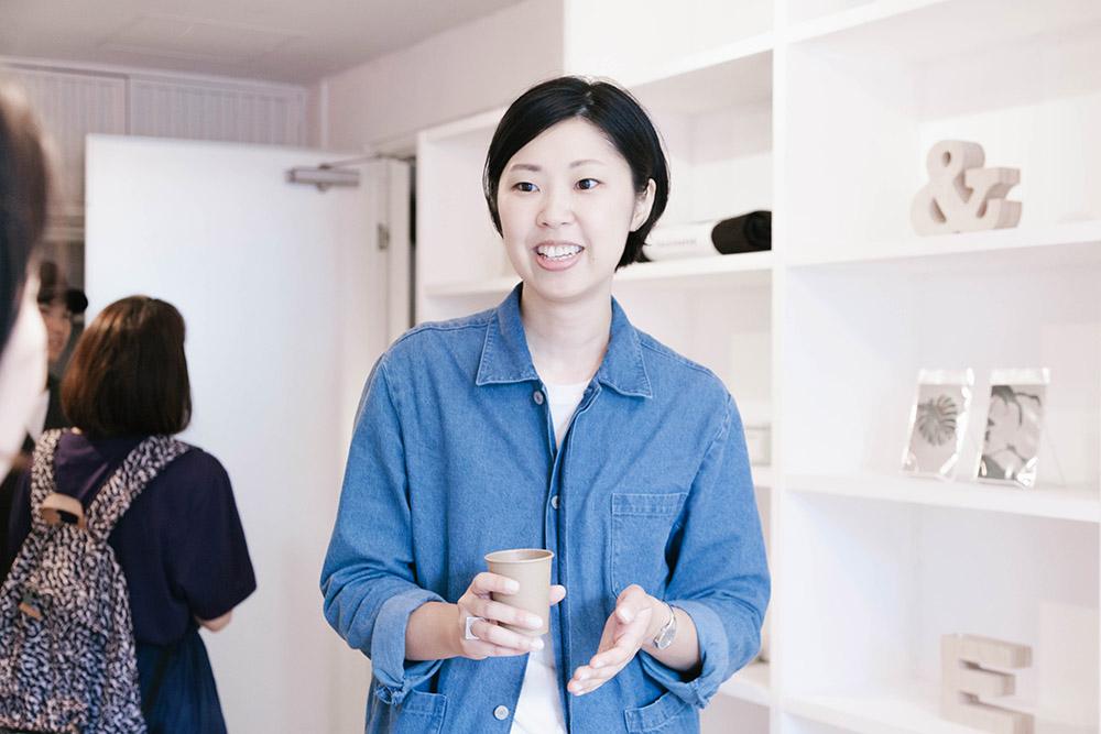お話を伺ったのは店長の吉金矢子さん。