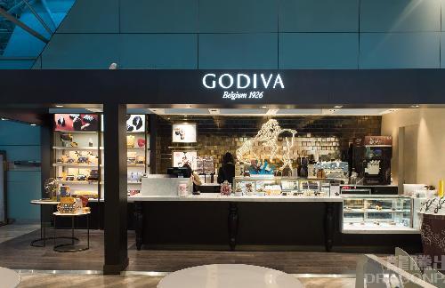 龍騰套餐:桃園機場 Godiva 餐廳