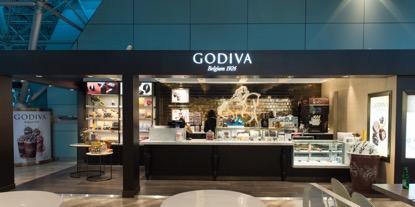 桃園機場美食餐廳:桃園國際機場第二航廈GODIVA