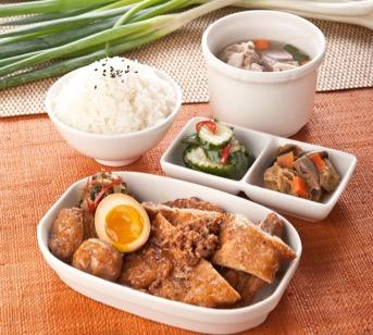 桃園機場美食餐廳:飄香滷排骨飯