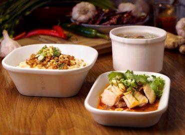 桃園機場美食餐廳:KIKI的川味擔擔麵及口水雞