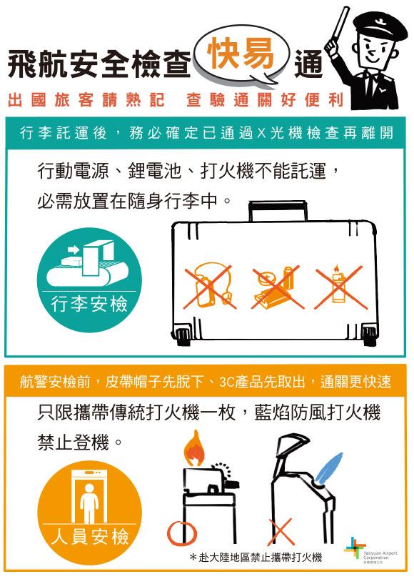 出國必備工具:機場安全檢查注意事項