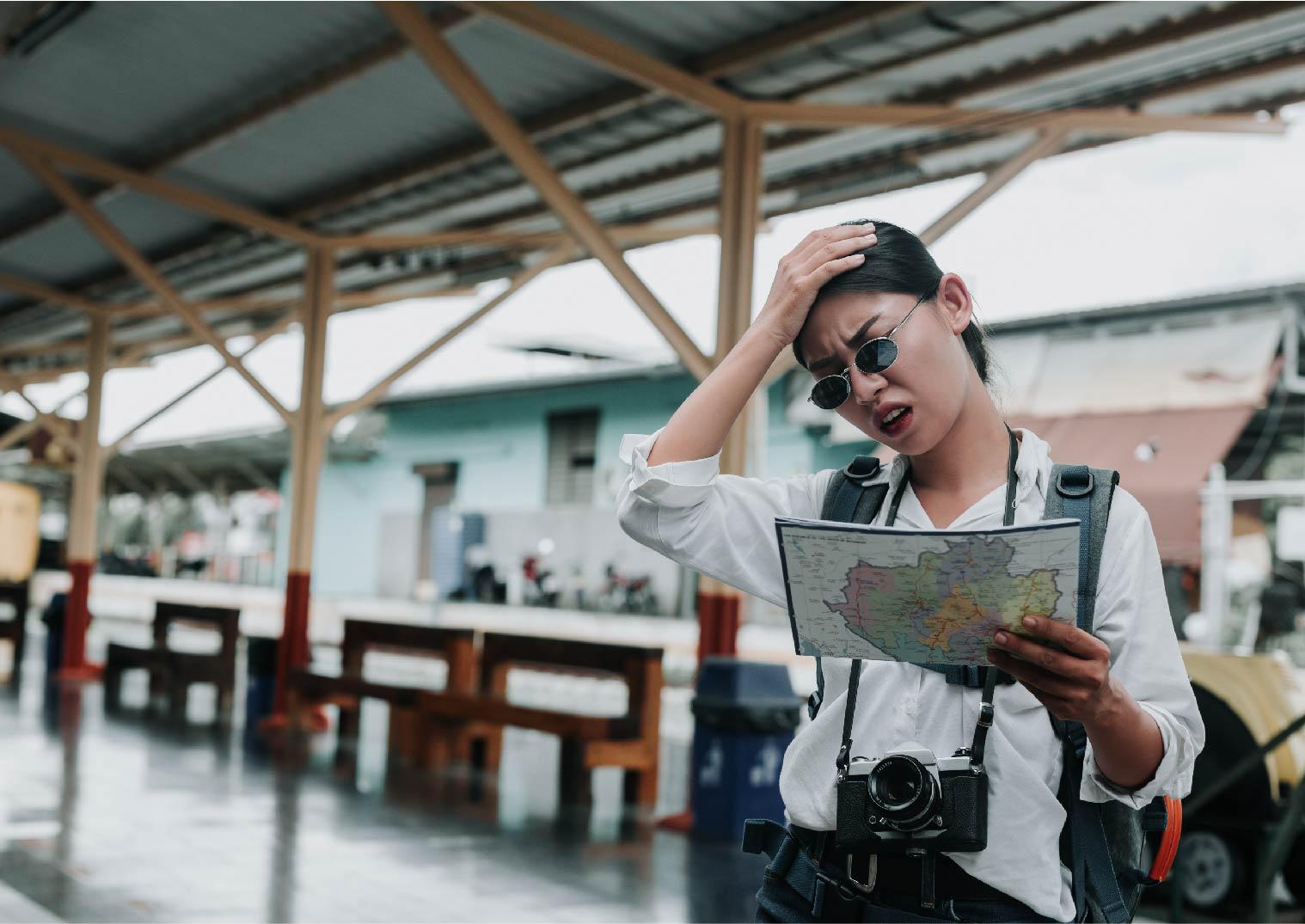 WiFi分享器:女性煩惱沒有網路地圖看不懂
