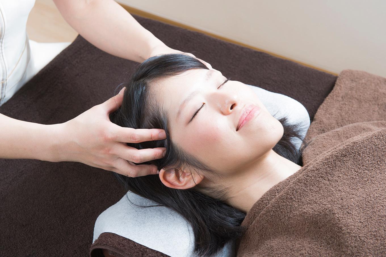 美髪鍼灸60分(頭皮の鍼+全身調整)
