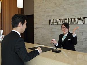 ホテルサンルート千葉(株式会社ユー・エス)/ホテルでのフロント業務