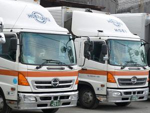 豊栄運輸株式会社/経験者優遇・年齢不問(1)倉庫内作業(2)パッカー車ドライバー(3)4t・10tドライバー