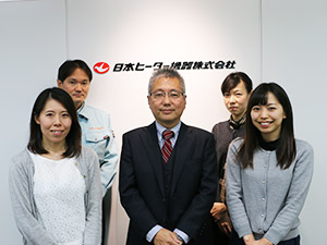 日本ヒーター機器株式会社/業務部(業務改善の立案・サポート、総務・経理など)/売上は前年比2倍の食品加熱機器メーカー