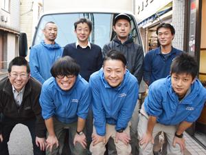 水島米穀株式会社/お米の配送ドライバー/世田谷区に寮完備/残業はほとんどなし/週休2日/昭和元年創業の老舗です