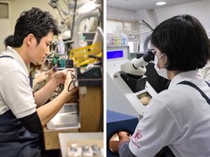 株式会社杢目金屋(MOKUMEGANEYA)/【モノづくり】ブライダルリング職人