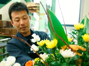 一柳商事株式会社/さまざまな花に囲まれて仕事ができる生花スタッフ/未経験者歓迎/転勤なし/安定性抜群