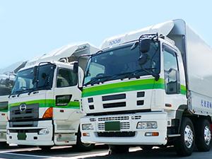 光徳運輸株式会社/(1)11tドライバー (2)4tドライバー (3)倉庫作業員/定着率抜群/研修制度