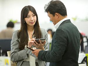 テックファーム株式会社(東証JASDAQ上場/テックファームホールディングス グループ会社)/IoT、スマートフォンなど最先端技術を駆使したITソリューション営業(営業先は既存顧客中心)