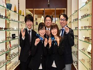 株式会社めがねの荒木/眼鏡の販売員/一流の技術とサービスを提供する眼鏡の専門店/眼鏡のスペシャリストを目指せます