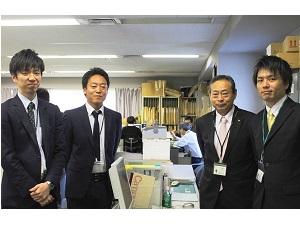 株式会社山櫻/ルート営業スタッフ/長年取引がある既存顧客が中心